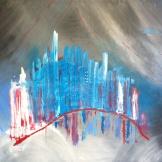 Magic City, 2012 Oil/Canvas 70/100 cm